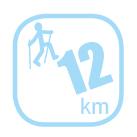 Festa Trail - 12 km - Marche nordique