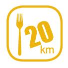 Festa Trail - 20 km - Trail gourmand